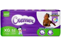 Fralda Cremer Disney Baby Tam. XG - 9 a 13kg 52 Unidades -