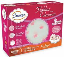 Fralda Cremer Luxo Estampada Menina - caixa c/5 -