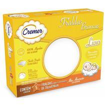 Fralda Cremer Luxo Kit Com 5 Brancas -