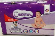Fralda Cremer - Tamanho Grandinhos - 14 fraldas -