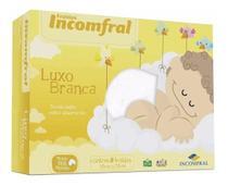 Fralda De Pano Branca Kit Com 5 Unidades - Incomfral