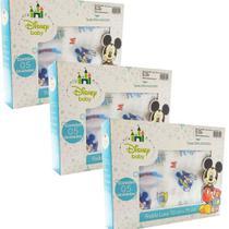 Fralda de Pano Disney Baby Mickey - 3 CXS - Cremer/Minasrey