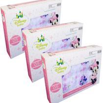 Fralda de Pano Disney Baby Minnie - 3 CXS - Cremer/Minasrey