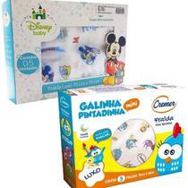 Fralda de Pano Galinha Pintadinha + Mickey 2 CXS - Cremer / Minasrey