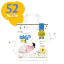 Fralda dermoprotetora baby bee free mega tamanhos p, m, g, xg e xxg -