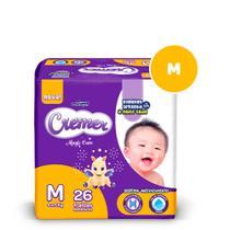 Fralda Descartável Infantil Cremer Baby M-26 de 4a9kg - Ontex