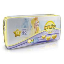Fralda Descartável Infantil Isababy Premium Mega G 46 Unid -