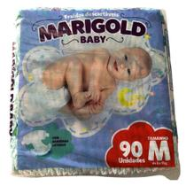 Fralda Descartável Infantil Marigold Pacotão M -