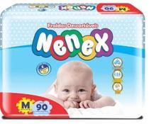 Fralda Descartável Infantil Nenex Revenda M Com 180 Unidades -