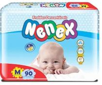 Fralda Descartável Infantil Nenex Revenda M -