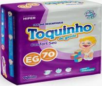 Fralda Descartável Infantil Toquinho Confort Sec Hiper Pacotão TAM: P-M-G-XG-XXG - DIGUINHO