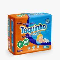 Fralda Descartável Infantil Toquinho Confort Sec Mega Pacotão TAM: P-M-G-XG-XXG - DIGUINHO