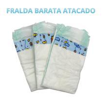 Fralda Descartavel Kit 90 Tamanho M - Baby Fraldas