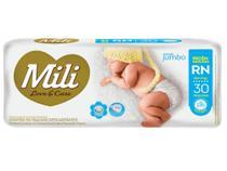 Fralda Descartável Mili Love Care RN Premium 30 Unidades -