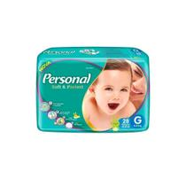 Fralda Descartável Personal Jumbo Soft & Protect Tam. G 252 Tiras -