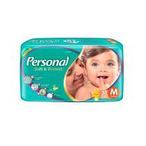 Fralda Descartável Personal Jumbo Soft & Protect Tam. M 288 Tiras -