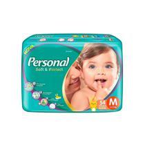 Fralda Descartável Personal Soft & Protect Mega Tam. M 324 Tiras -