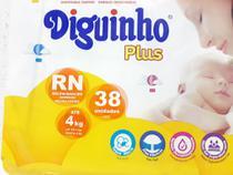 Fralda Diguinho RN Recém Nascido com 38 unidades -