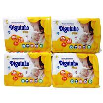 Fralda Diguinho RN recém nascido ou prematuro 4 pacotes com 38 unidades -
