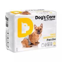 Fralda Dogs Care  Macho 12 unidades G -