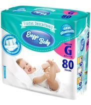 Fralda Enzzo Baby G Com 80 Fraldas Revenda Atacado Barato -