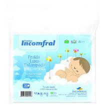 Fralda Especial Estampada Incomfral Para Meninos - 5 UN -