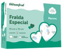 Fralda Especial Menino 70cm x 70 Incomfral - Incomfral -