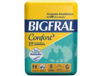 Fralda Geriátrica Bigfral Confort G - 8 Unidades