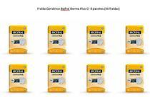Fralda Geriátrica Bigfral Derma Plus tamanho G- Fardo com 8 Pacotes - Ontex