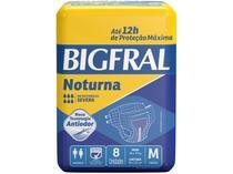 Fralda Geriátrica Bigfral M Noturna - 8 Unidades