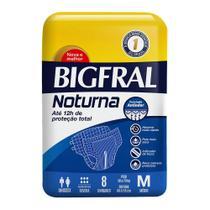Fralda Geriátrica Bigfral Noturna M 8 unidades - Hypermarcas