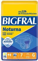 Fralda Geriátrica Bigfral Noturna (Tam. G - Pct c/ 07 Unds.) - Bigfral - Ontex