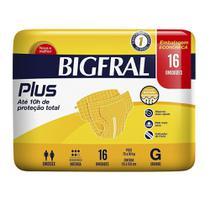 FRALDA GERIÁTRICA BIGFRAL PLUS G 16un -