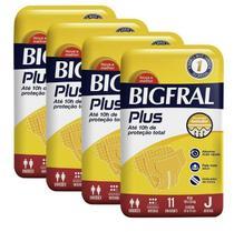 Fralda Geriatrica BigFral Plus Juvenil- 44 unidades -