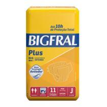 Fralda geriatrica bigfral plus juvenil c/11 -