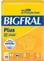 Fralda Geriátrica Bigfral Plus (Tam. G - Pct c/ 08 Unds.) - Bigfral -