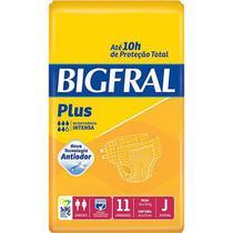 Fralda Geriátrica Bigfral Plus ( Tam. J - Pct c/ 11 Unds.) - Bigfral -