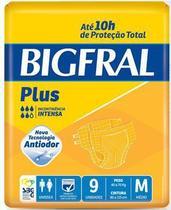 Fralda Geriátrica Bigfral Plus (Tam. M - Pct c/ 09 Unds. ) - Bigfral -