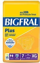 Fralda Geriátrica Bigfral Plus (Tam. XG - Pct c/ 07 Unds. ) - Bigfral -