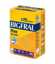 Fralda Geriátrica BIGFRAL Plus - XG c/7unid. -