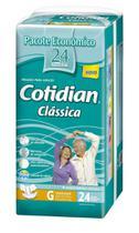 Fralda Geriatrica Cotidian Classica G 24 unidades -