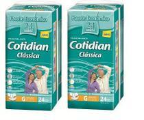Fralda Geriatrica Cotidian Classica G 48 unidades -