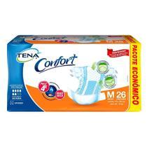 Fralda Geriátrica Descartável Confort Tam. M - 78 unidades - Tena - Efacil