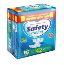 Fralda Geriatrica Safety Confort Hiper Pacotão- EG 42 Unid -