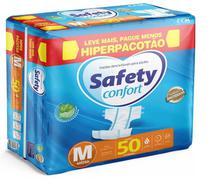 Fralda Geriatrica Safety Confort Hiper Pacotão- M 50 Unidades -