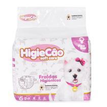 Fralda Higiênica Cães Fêmea Higiecão - Higiecao