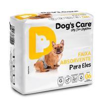 Fralda Higienica G Para Macho Dogs Care C/6 Unidades -
