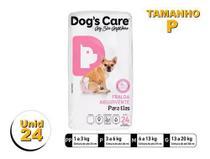 Fralda Higiênica P/cães Fêmeas - Dog's Care Tam P - 24 Unid -