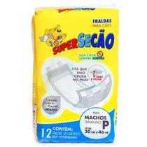 Fralda higienica supersecao macho tam. p com 12 unid. - Marca
