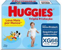 Fralda Huggies Disney Tripla Proteção XG 66 Unidades - Pampers